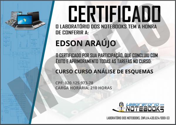 Certificado de 210 horas